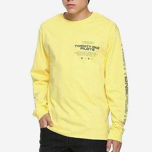 TWENTY ONE PILOTS Trench Long Sleeve XL T Shirt